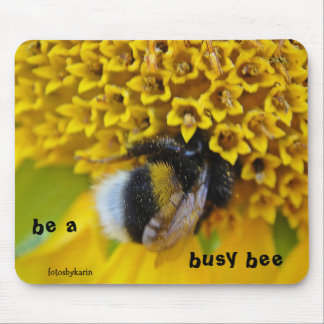 Mousepad Hummel: be a busy bee