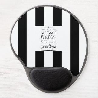 Mousepad - Liebling hallo, stark Auf Wiedersehen