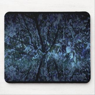 Mousepad mit Digital-Kunst-Bild - Regen-Wald