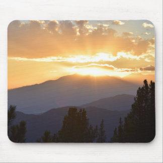 Mousepad mit himmlischem Sonnenuntergang