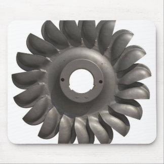 Mousepad mit Wasser-Turbine