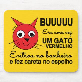 Mousepad Rote Katze By SCHAUFEL