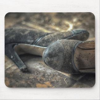 Mousepad Verlorene Schuhe - Lost Place