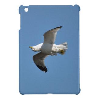 Möve, die umgedrehte lustige Tier-Fotografie iPad Mini Cover