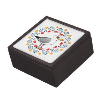 Möven-Kreis der Liebe Kiste