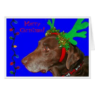 Moxie 20103, frohe Weihnachten! Karte