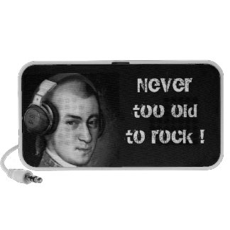 Mozart-Bereiche: Never too old to rock! Notebook Speaker