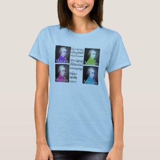 Mozart-Popkunst-Damen-T - Shirt