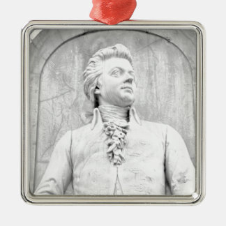 Mozart Silbernes Ornament