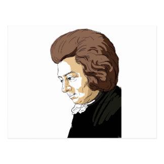 Mozart (Wolfgang Amadeus Mozart) Postkarte