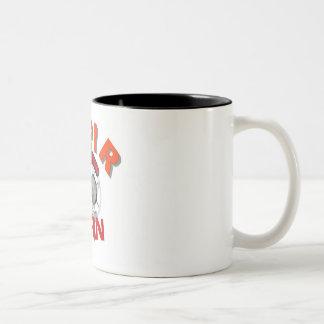 MPIR Fan-Kaffee-Tasse Zweifarbige Tasse