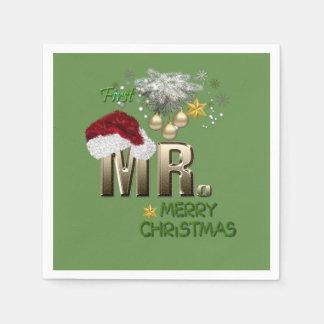 MR.First Weihnachten Papierserviette