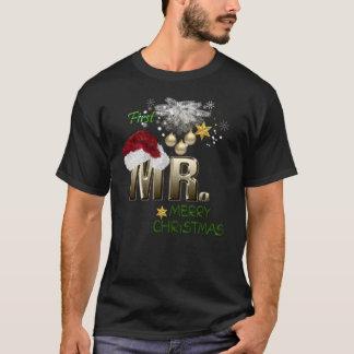 MR.First Weihnachten T-Shirt