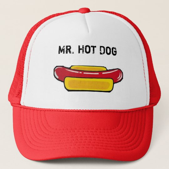 Mr. Hot Dog Cap Truckerkappe