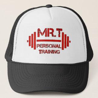 Mr.T persönliches ausbildenRed Hat Truckerkappe