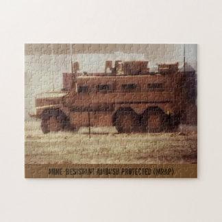 MRAP 10 x 14 Foto-Puzzlespiel Puzzle