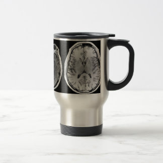MRI Gehirnbild-Reise-Tasse Edelstahl Thermotasse