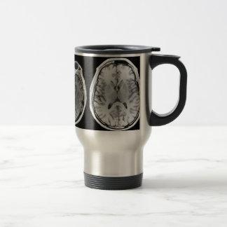 MRI Gehirnbild-Reise-Tasse Reisebecher