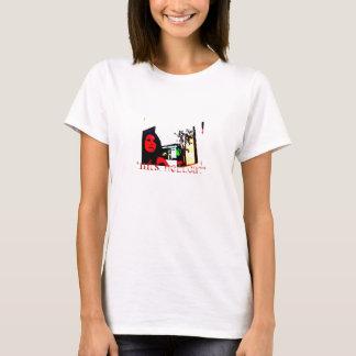 *Mrs Hellcat* Gelb mit Foto T-Shirt