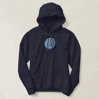 MST3K MondHoodie (Marine-Blau) Hoodie