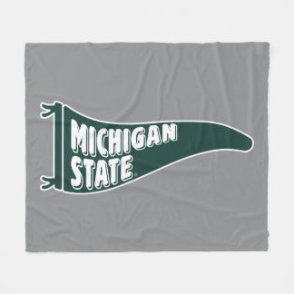 MSU Spartans | Michigan Staats-Universität 4 Fleecedecke