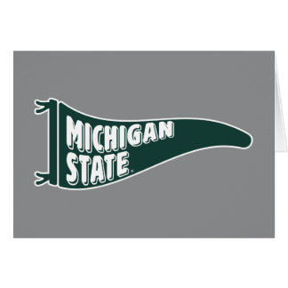 MSU Spartans | Michigan Staats-Universität 4 Karte