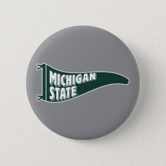 MSU Spartans | Michigan Staats-Universität 4 Runder Button 5,1 Cm