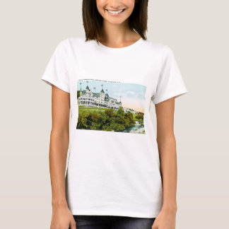 Mt. Angenehmes Hotel, weiße Berge, New Hampshire T-Shirt