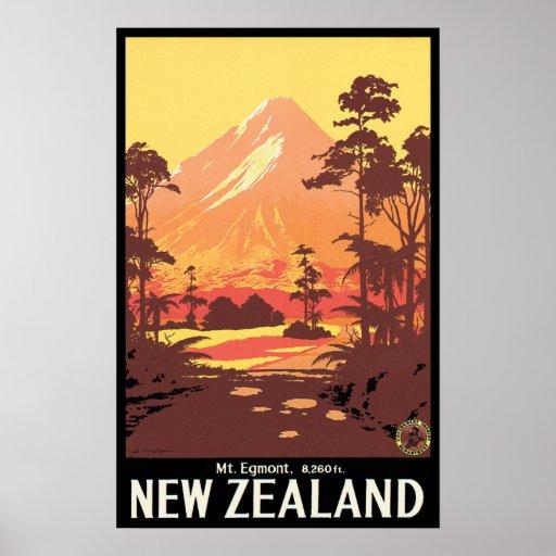 Mt Egmont Neuseeland Posterdruck