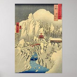 Mt Haruna Kozuke Poster