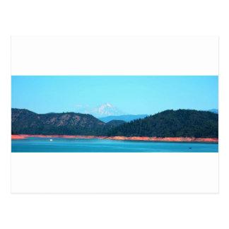 Mt Shasta Postkarte