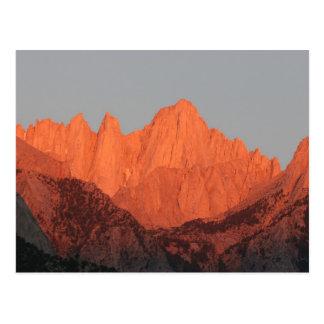 Mt. Whitney an der Dämmerung… Postkarte