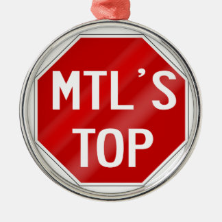 MTLSTOP KAPPE SILBERNES ORNAMENT