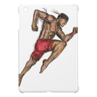 Muay thailändische Verpacken-Kämpfer-Tätowierung iPad Mini Hülle