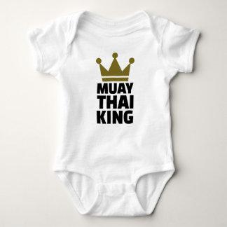 Muay thailändischer König Baby Strampler