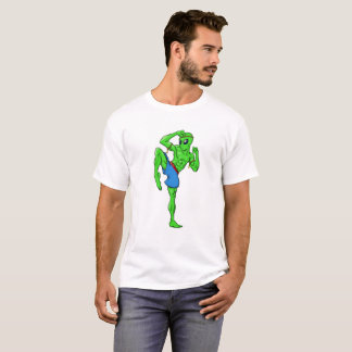 Muay thailändisches alien T-Shirt