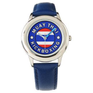 Muay thailändisches armbanduhr