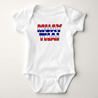 Muay thailändisches baby strampler