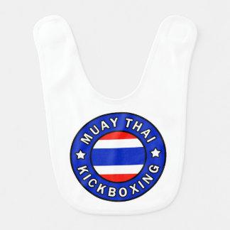 Muay thailändisches babylätzchen