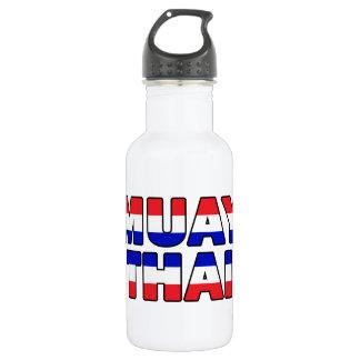 Muay thailändisches edelstahlflasche