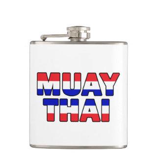Muay thailändisches flachmann