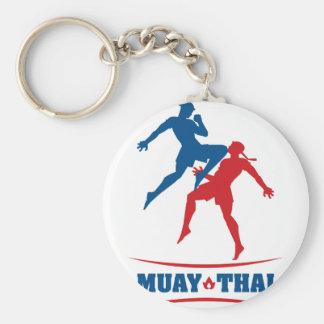 Muay thailändisches schlüsselanhänger