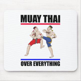 Muay thailändisches Über alles Mousepad