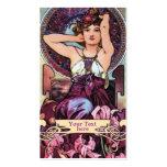 Mucha Kunst Nouveau - Kunst-Deko-Geschäfts-Karten Visitenkartenvorlagen