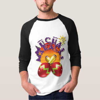 Mucha Maracas Entwurf T-Shirt