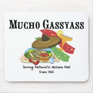 Mucho Gassyass Mexikaner-Nahrung Mousepad
