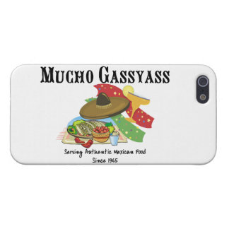 Mucho Gassyass Mexikaner-Nahrung Schutzhülle Fürs iPhone 5