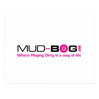 Mud-Bog.com Postkarte