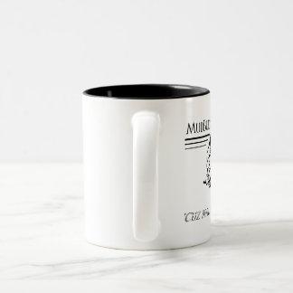 MudBuds Kaffee-Tasse Zweifarbige Tasse