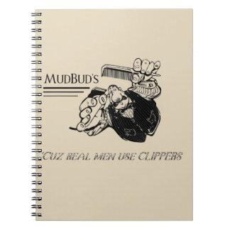 MudBuds Notizbuch Spiral Notizblock
